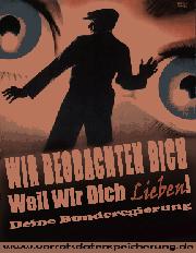 Demo gegen Überwachung