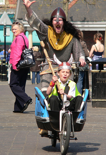 Sam Fryers, Biking Viking
