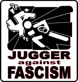 Jugger agai8nst fascism