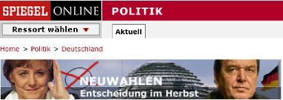 Spiegel-Banner